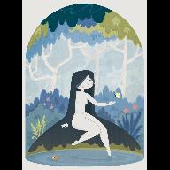 dama_bosque