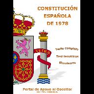 Constitución Española - Texto completo, Test, Simulacros